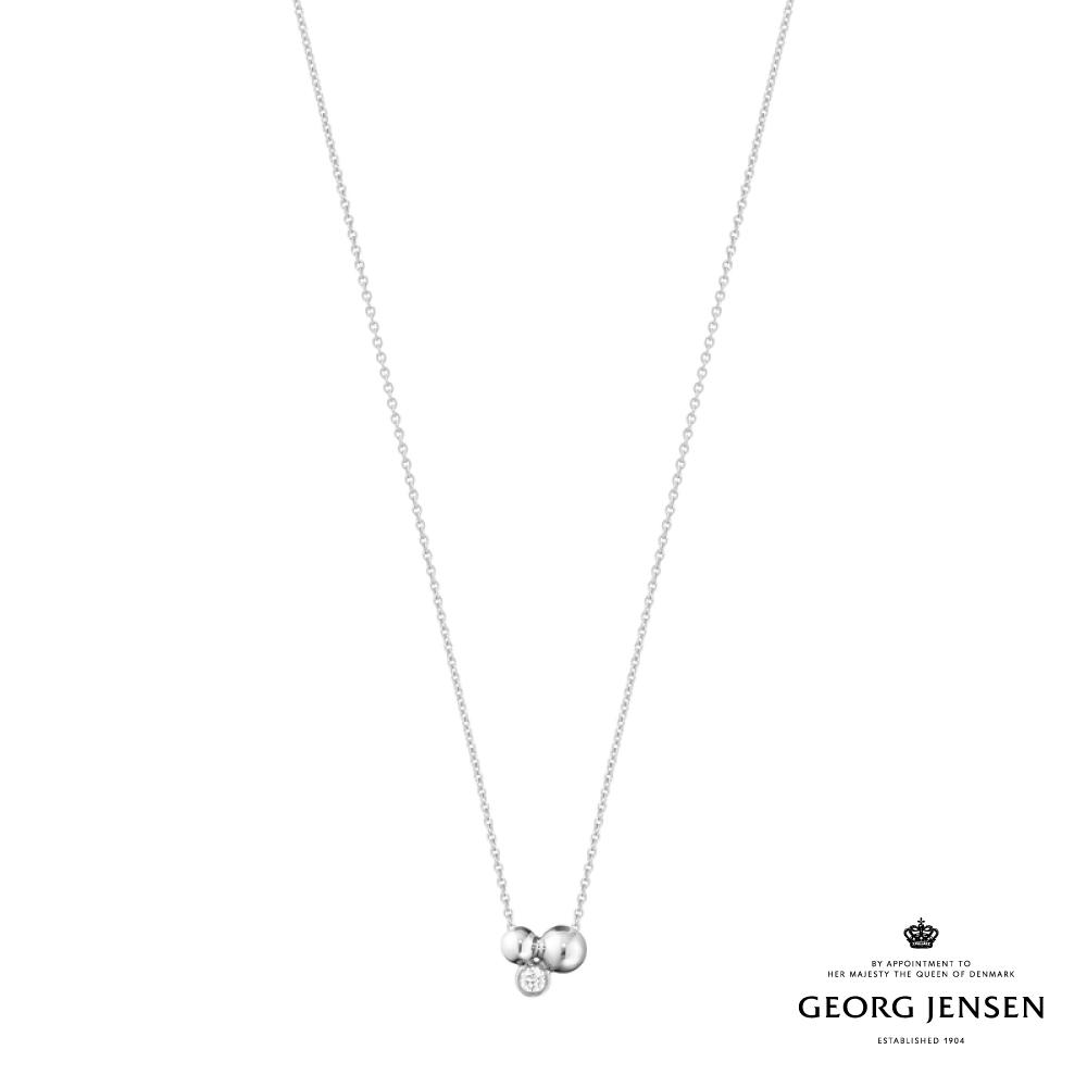 Georg Jensen 喬治傑生 MOONLIGHT GRAPES 純銀鑽石項鍊