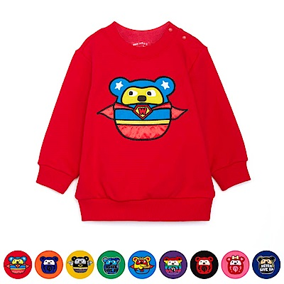WHY AND 1/2 mini 普普熊彈性棉質T恤 1Y~4Y 多色可選