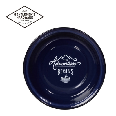 【Gentlemen s Hardware】戶外琺瑯餐盤-紳士藍