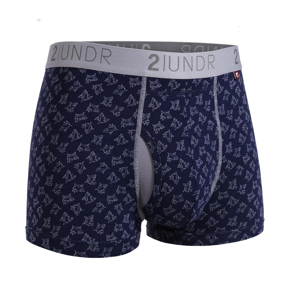 2UNDR莫代爾吸排四角內褲(3吋)- 小鯊魚