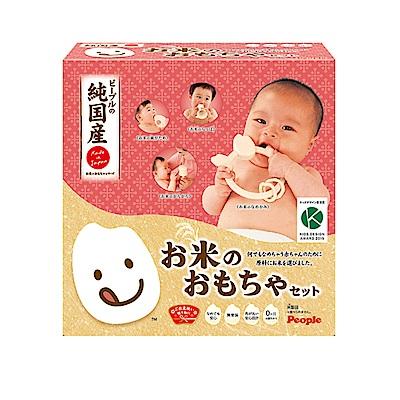 日本PEOPLE-新米的玩具4件組合