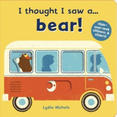 I Thought I Saw A...Bear! 熊熊玩捉迷藏硬頁操作書