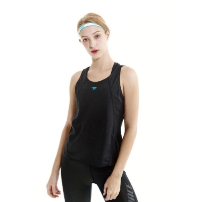 SUPERACE TCOOL機能兩穿訓練挖背背心 / 女款 / 黑