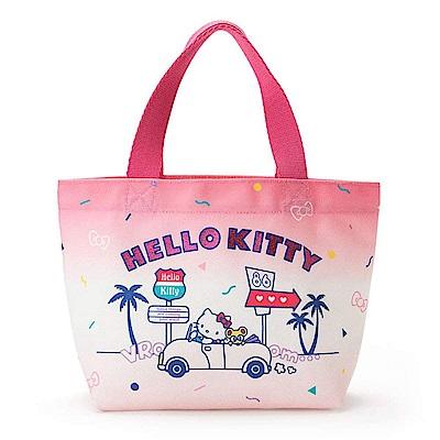 Sanrio SANRIO明星夏日假期系列布面迷你提袋(KITTY)