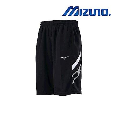 MIZUNO 美津濃 男針織短褲 黑x白 32TB900290