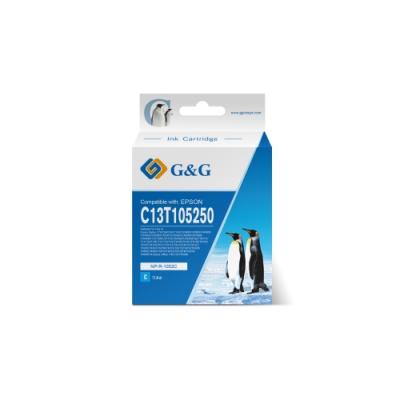【G&G】for EPSON T105250 / C13T105250 (NO.73N) 藍色相容墨水匣 /適用:Stylus C79 / C90 / C110 / T20 /T21/CX3900