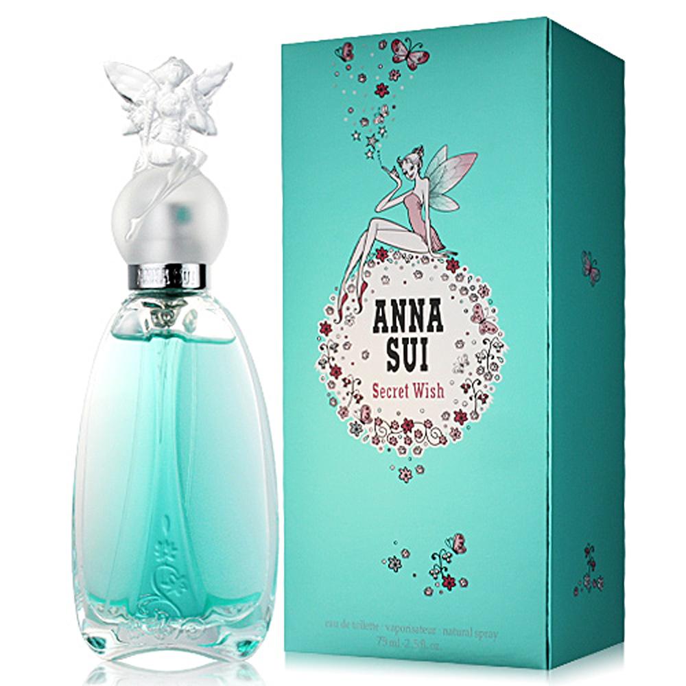 ANNA SUI 安娜蘇 許願精靈女性淡香水75ml 釋放其中神秘的魔力