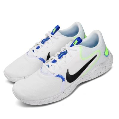 Nike 慢跑鞋 Flex Experience RN 男鞋 輕量 透氣 舒適 避震 路跑 健身 白 黑 CW5849100