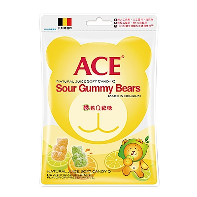 ACE 酸熊Q軟糖3入組(200g/包)