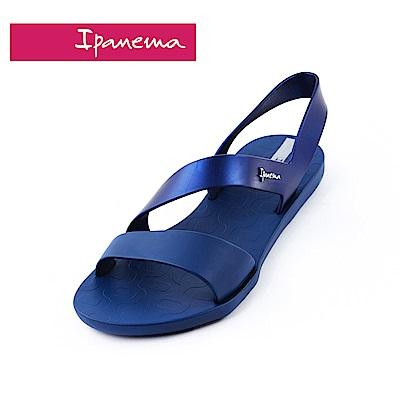 IPANEMA VIBE SANDAL系列 環繞細帶涼鞋-深藍色