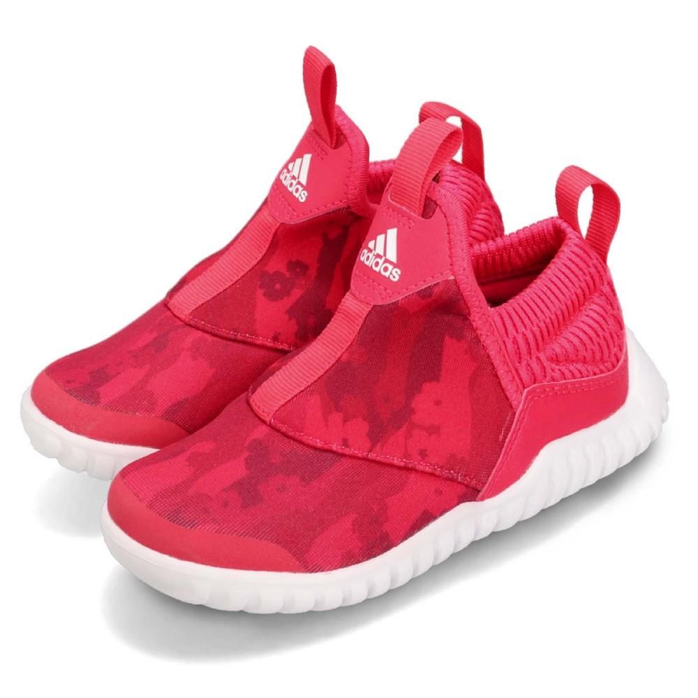 adidas 休閒鞋 RapidaZen 襪套 運動 童鞋