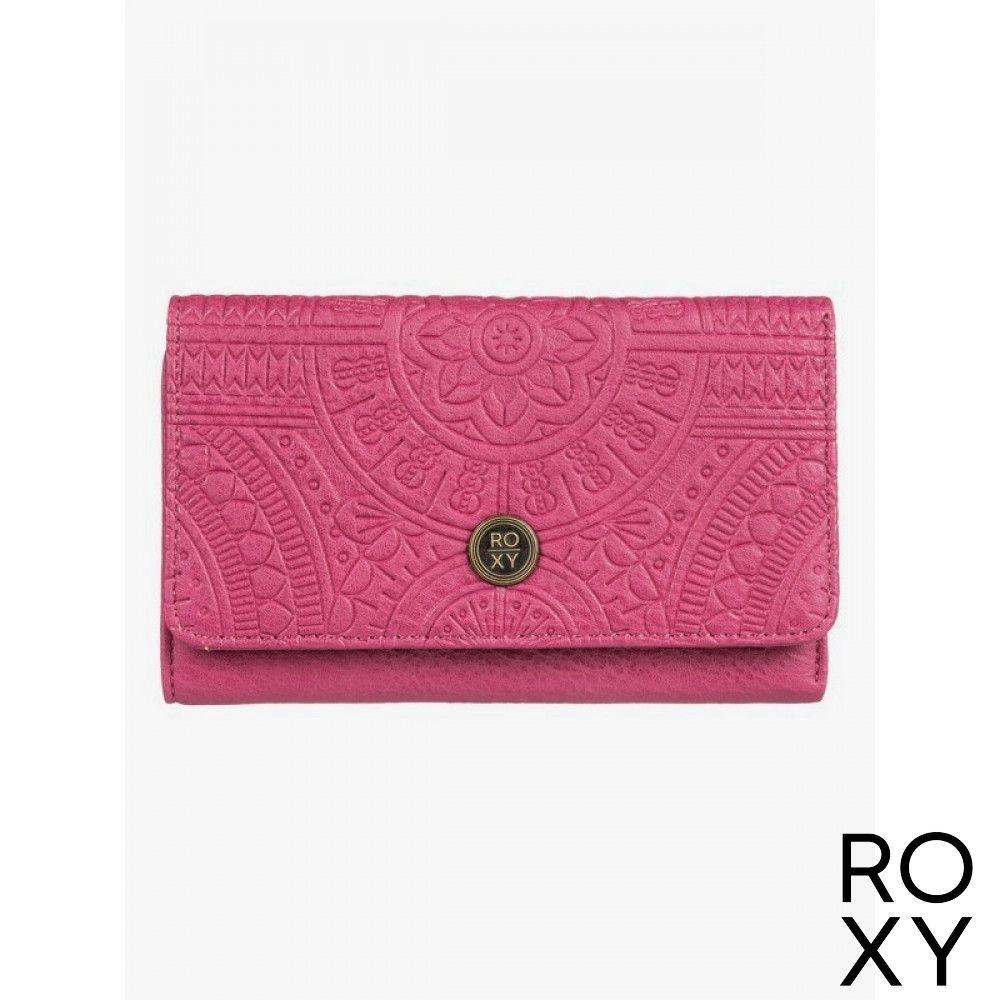 【ROXY】CRAZY DIAMOND 皮夾 紫紅