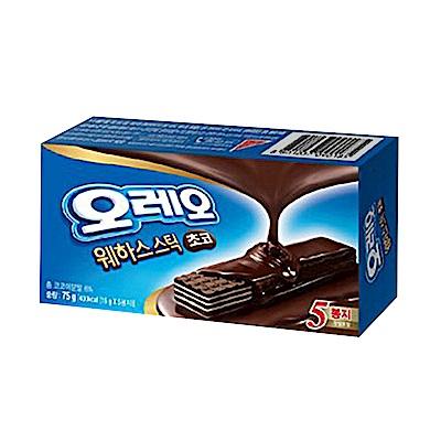韓國OREO 威化條黑巧克力口味(75g)