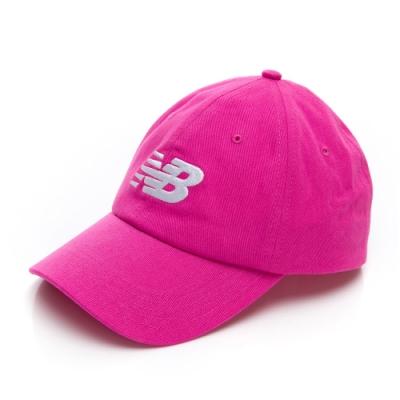 New Balance 經典 Logo帽 LAH91017LCV 桃紅