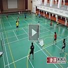 攜帶式輕便羽毛球網6.6m.室內戶外休閒折疊收納行動羽球網雙打比賽適用運動用品裝備