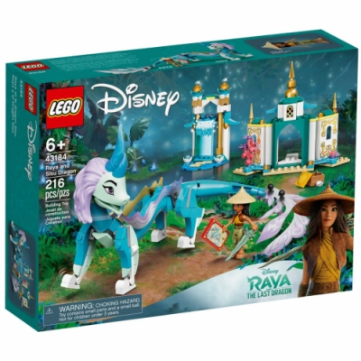 樂高LEGO 迪士尼公主系列 - LT43184 Raya and Sisu Dragon