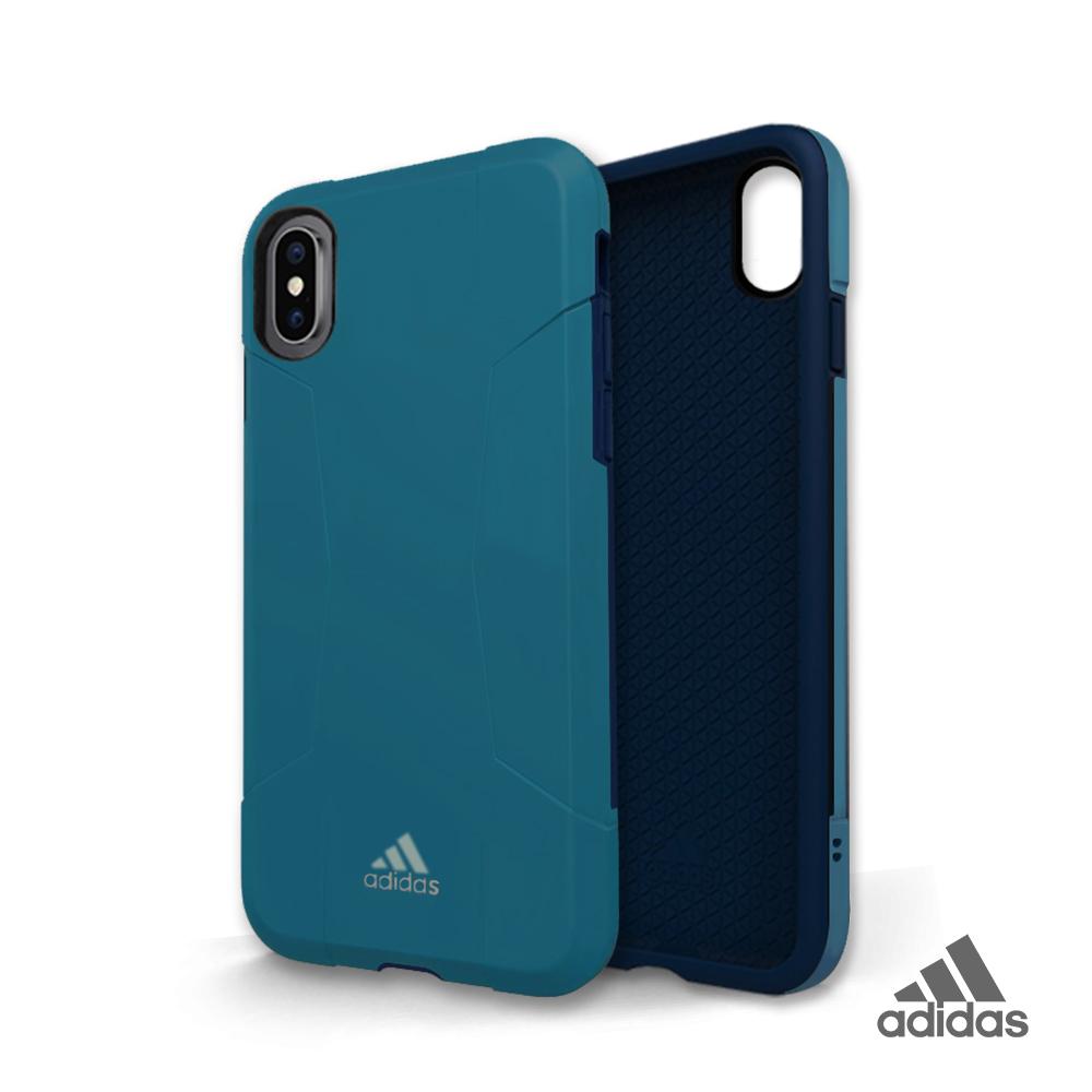 adidas iPhone X/Xs Solo Case 全保護手機殼 經典藍