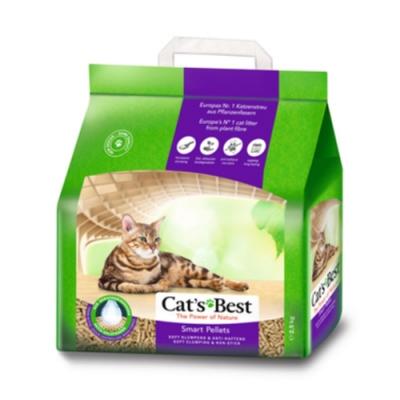 德國凱優Cat′s Best-特級無塵凝結木屑砂(紫標凝結型) 2.5kg