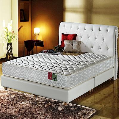 A家-小孩/長輩/體重重專用-抗菌防潑水-護邊蜂巢獨立筒床墊-單人3.5尺