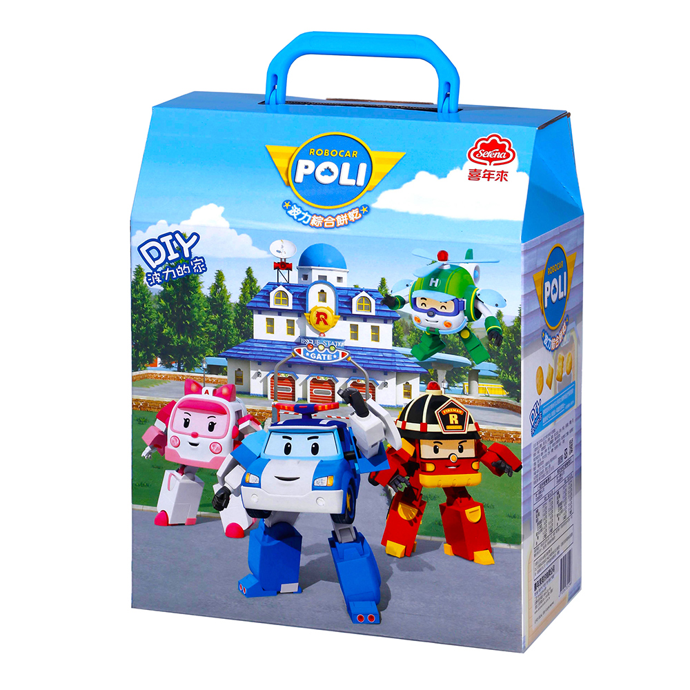 喜年來 POLI波力綜合餅乾手提禮盒(400g)