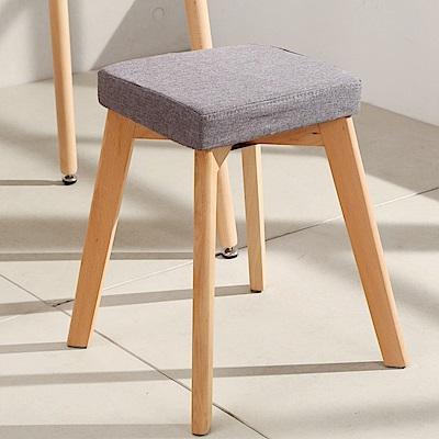 LOGIS邏爵- 現代摩登方形椅凳 /餐椅/休閒椅/書桌椅/北歐風