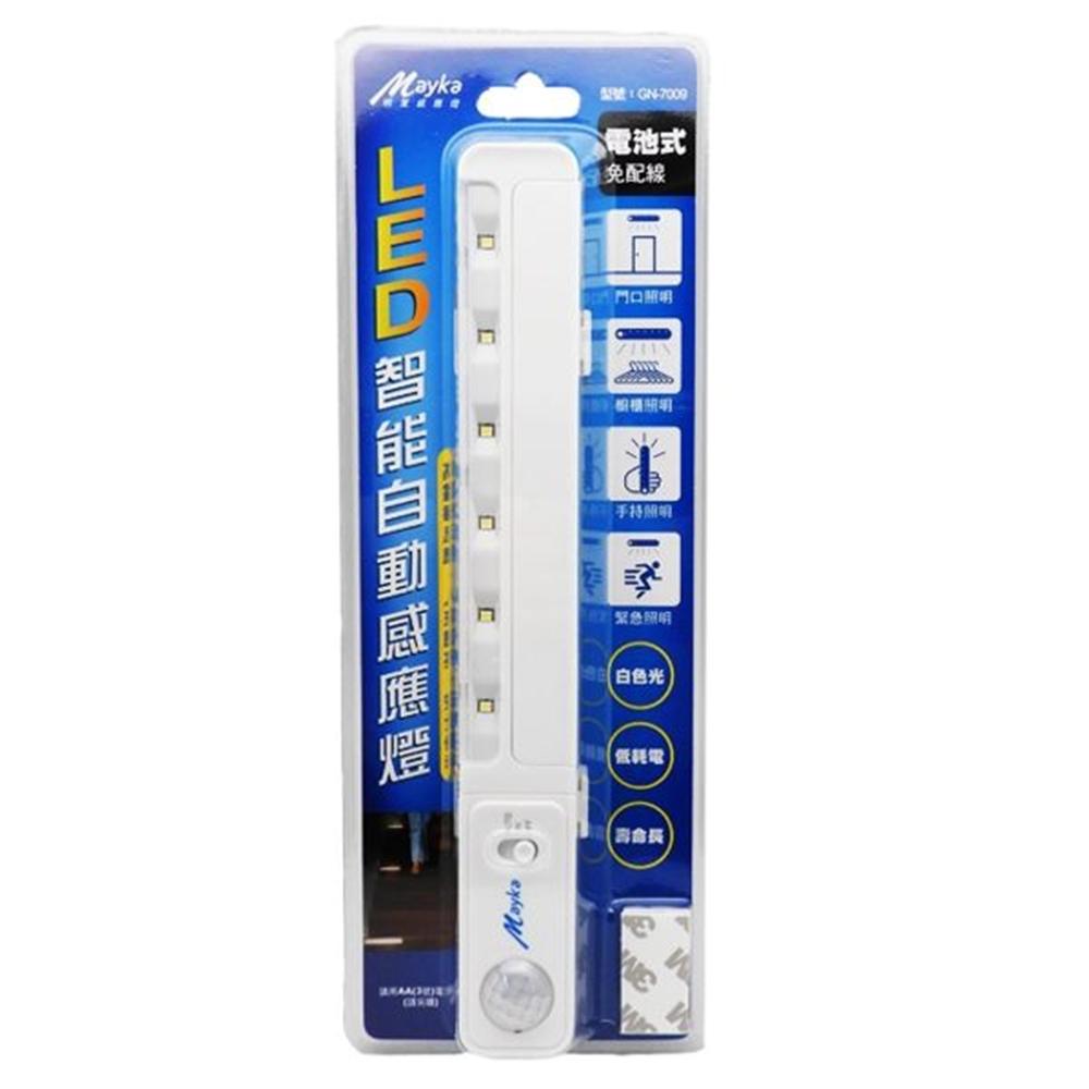 【BWW嚴選】明家 LED智能自動感應燈 GN-7009