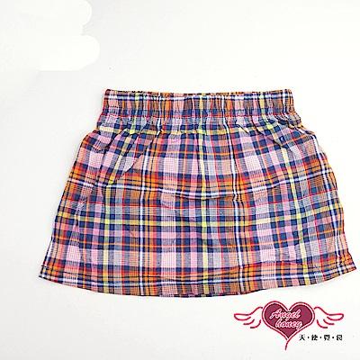 天使霓裳 經典格紋 兒童可愛童裝短裙(彩)