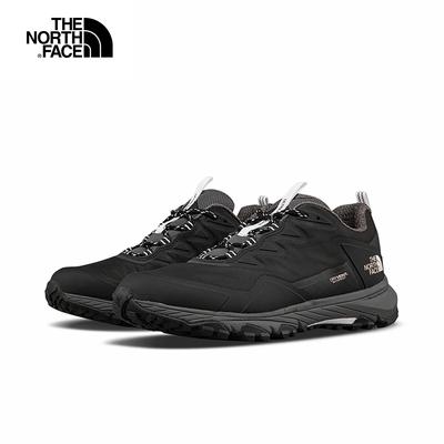 The North Face北面女款黑色防水透氣耐磨抓地徒步鞋|52RAKY4