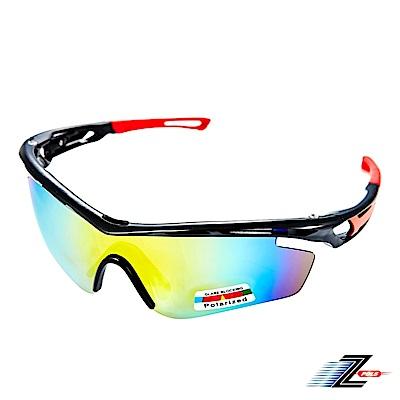 【Z-POLS】悍將風馳新太空纖維材質搭載REVO七彩Polarized頂級一片式偏光眼鏡