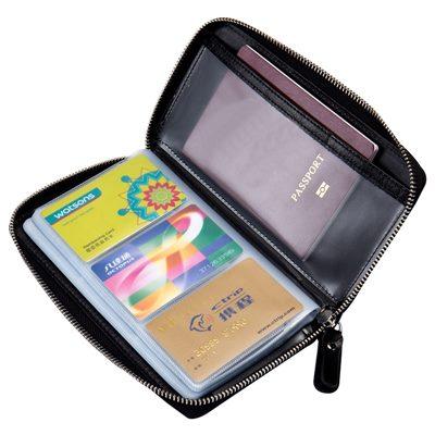 玩皮工坊-真皮牛皮60卡位護照包護照夾證件包卡片包卡片夾-CB146