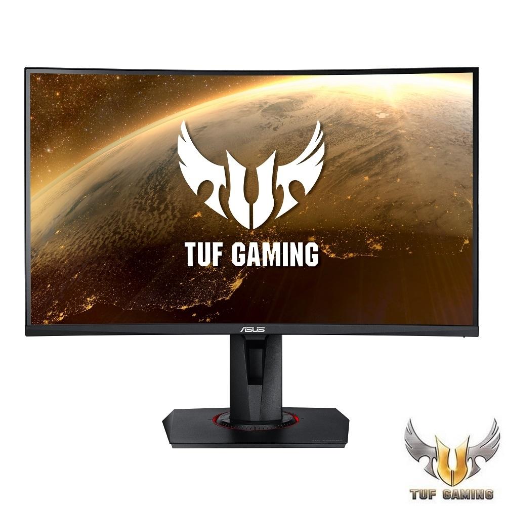 ASUS TUF Gaming VG27VQ 27型 VA 曲面電競螢幕 165Hz|FreeSync|1ms