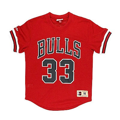 M&N NBA 球員號碼T恤 公牛隊 Scottie Pippen