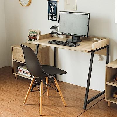 完美主義 附插座書桌/書櫃/工作桌/電腦桌