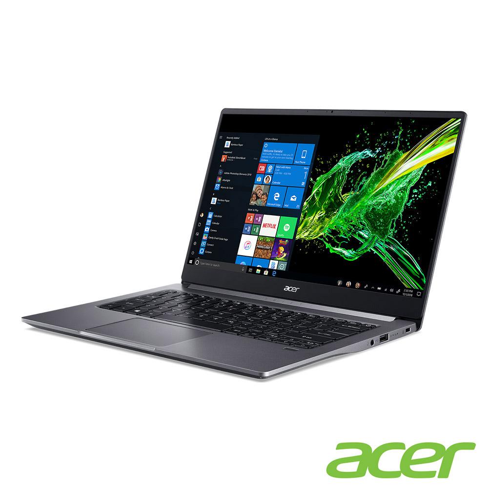 Acer SF314-57G-55UK 14吋筆電(i5-1035G1/MX350/8G/512G SSD/Swift 3/灰)