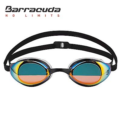 巴洛酷達 成人競技抗UV電鍍泳鏡 Barracuda BOLT #90210