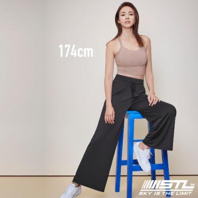 STL yoga ESSENCE Light Quick Dry 韓國瑜珈 運動機能 加長加寬 本質落地寬舒服褲 黑