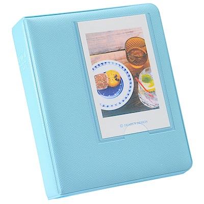 [快]Kamera for instax mini 馬卡龍拍立得相冊(64張)-藍