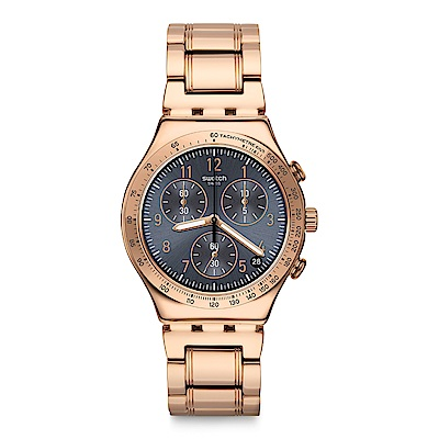 Swatch ELEGANTUM 優雅迷金手錶