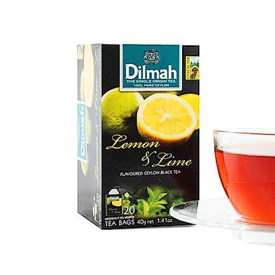 Dilmah帝瑪 檸檬萊姆紅茶(2gx20入)