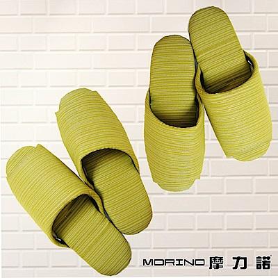 MORINO摩力諾 日式個性無聲布室內拖鞋