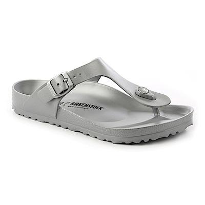 勃肯BIRKENSTOCK 1003496吉薩 EVA夾腳拖鞋(銀灰色)