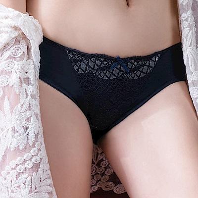 推EASY SHOP-皇室美戀 中腰三角褲(爵士藍)