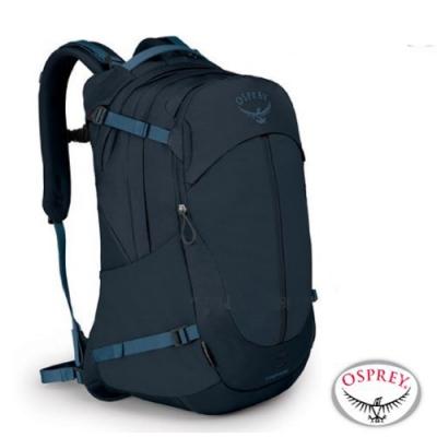 OSPREY 新款 TROPOS 34 輕量多功能口袋休閒後背包34L_海妖藍 R