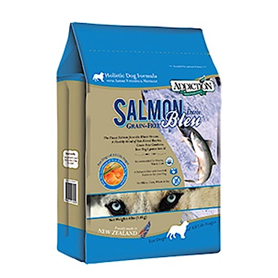 Addiction自然癮食 無穀藍鮭魚寵食犬糧 9KG