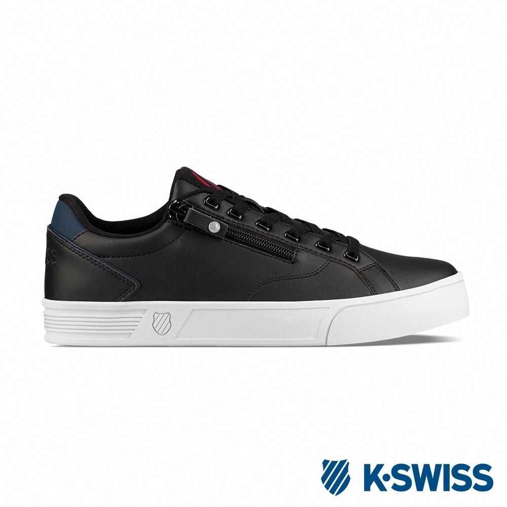 K-SWISS Court Lite Zipper S休閒運動鞋-男-黑