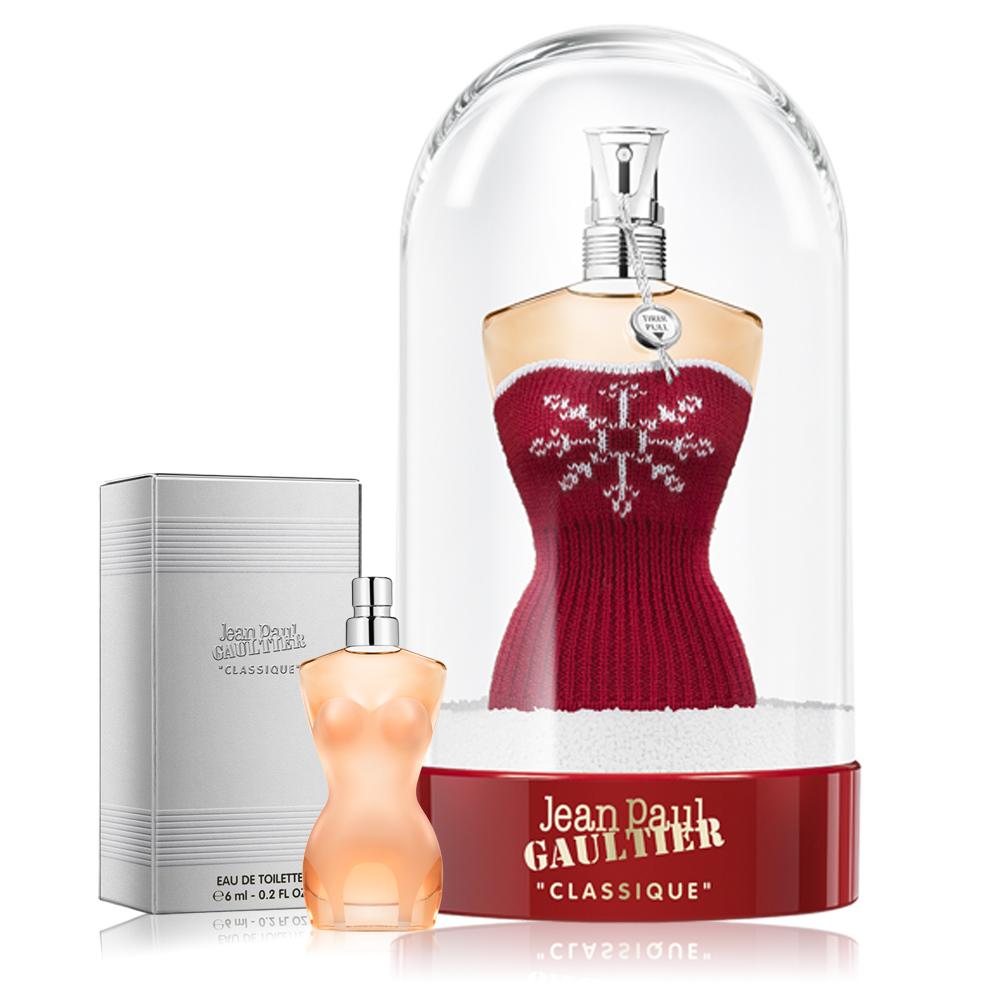 高堤耶Jean Paul Gaultier 裸女女性淡香水耶誕限定版100ml-加同名小香