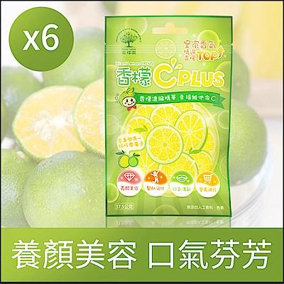 香檬園 香檬C Plus軟糖 6包組