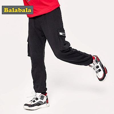 Balabala巴拉巴拉-側邊工裝立體口袋長褲-男(2色)