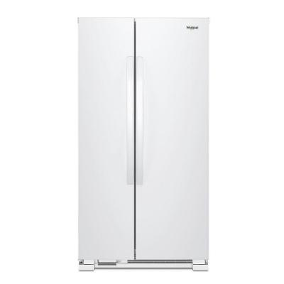 惠而浦 Whirlpool 640L 美式雙門對開 定頻電冰箱 WRS312SNHW