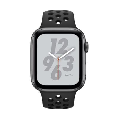 Apple Watch Nike+ S4(GPS+網路)44mm銀色鋁金屬錶殼+黑色錶帶